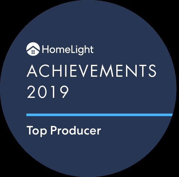 HomeLight Achievement Winner - lisa jackson - Top North Carolina Real Estate Agent