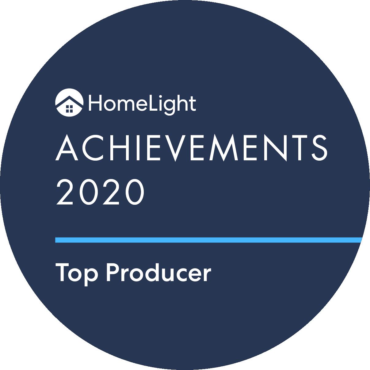 HomeLight Achievement Winner - Shawn Maxey - Top Washington Real Estate Agent