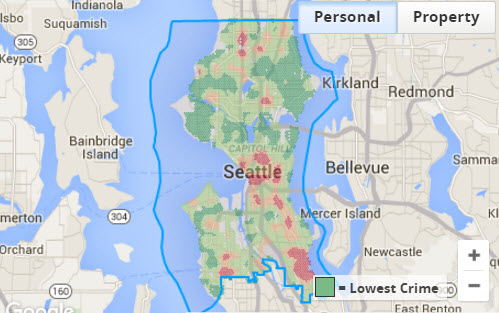 personal crime scores in seattle