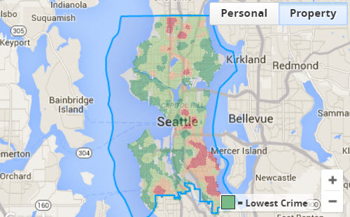 property crime scores in seattle