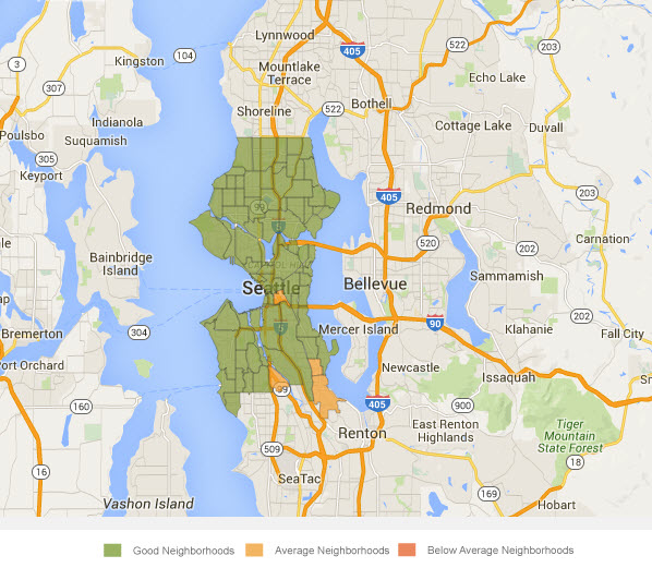 safe neighborhoods moving to seattle
