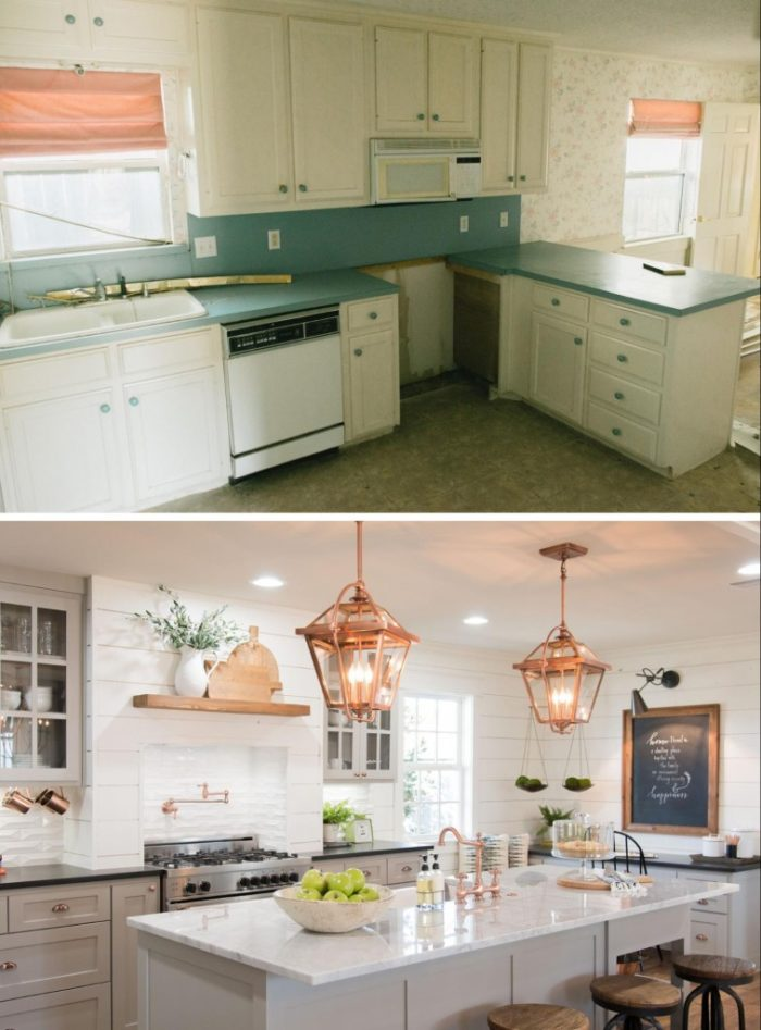 Merveilleux Kitchen Update Before And After
