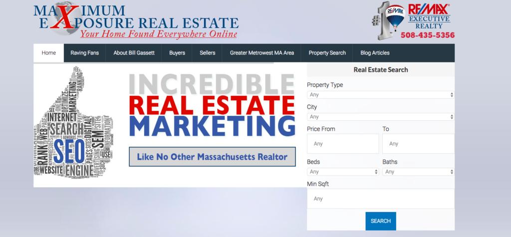 Best Real Estate Blog Two: Maximum Exposure Real Estate