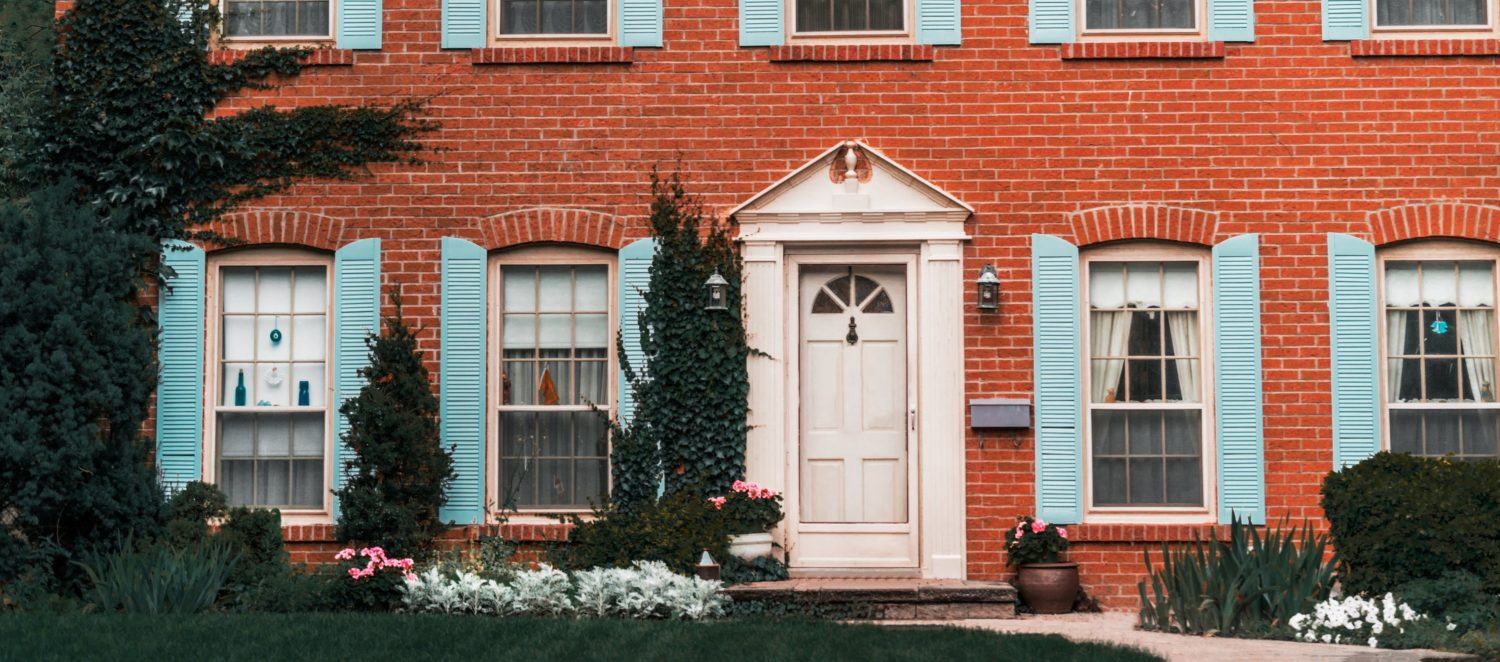 curb appeal guide red brick house