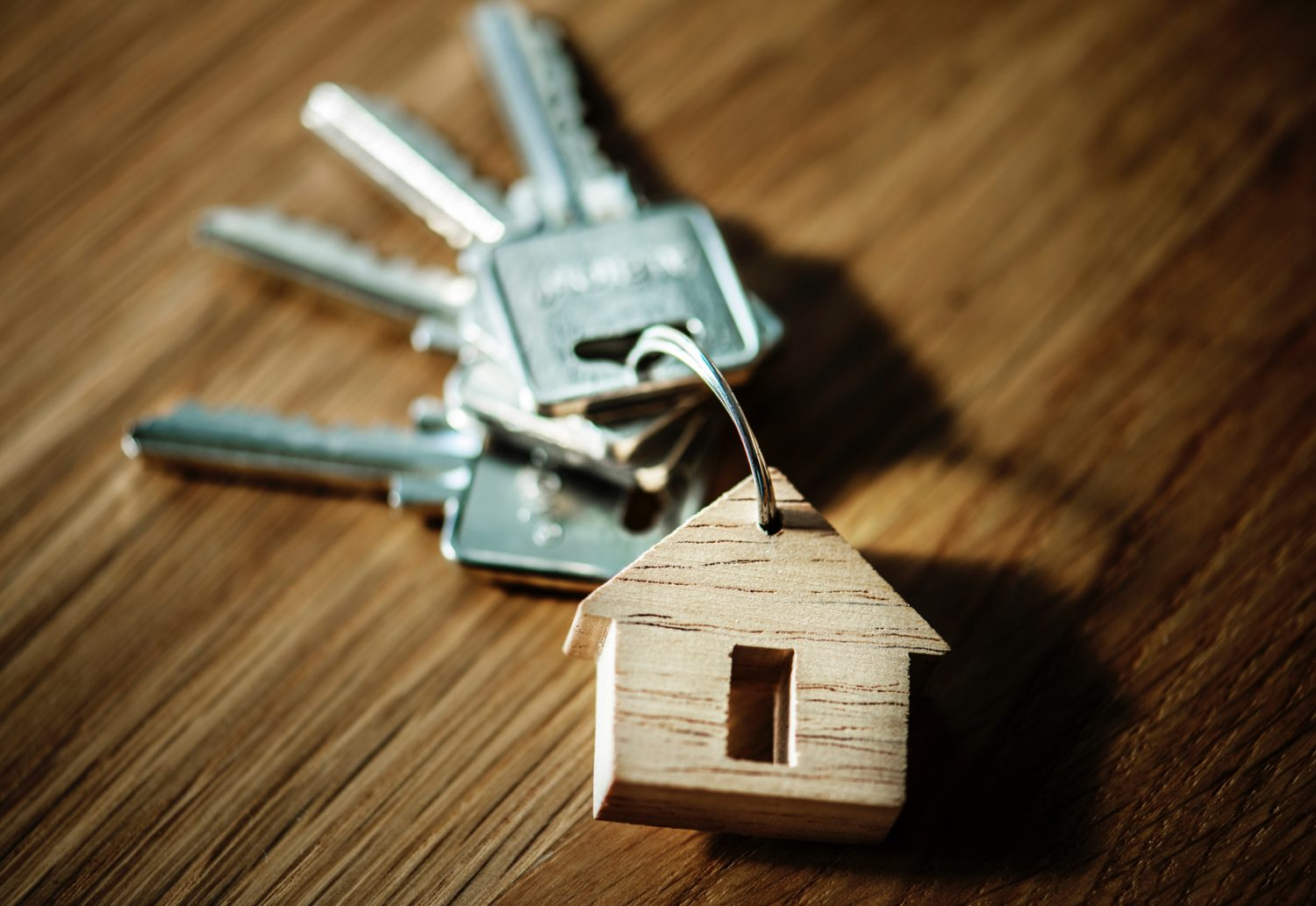 house keys for mortgage