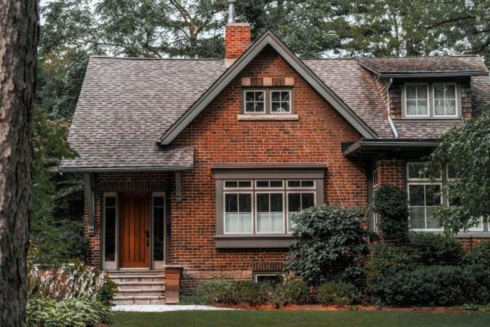 brick house downsizing