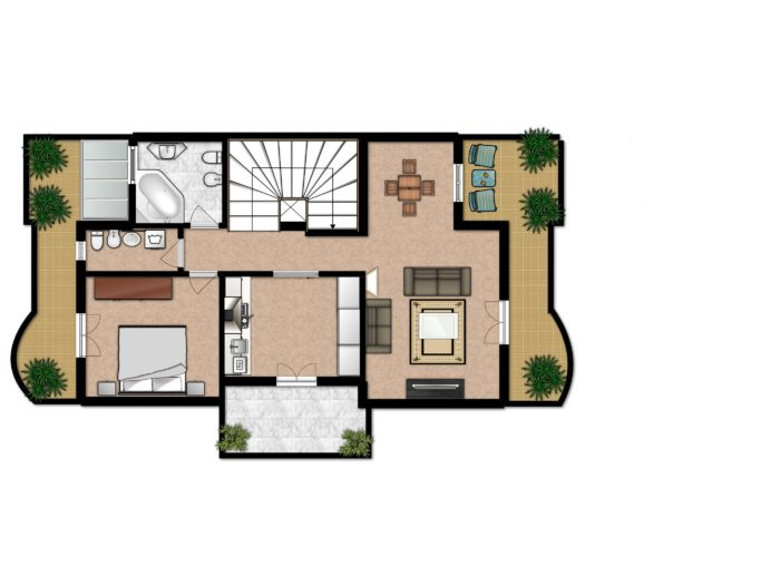 15 Inspiring Downsizing House Plans That Will Motivate You ... on courtyard house plans, wrap around porch house plans, loft house plans, secret passage house plans, fox trot house plans, curved stair house plans, mariner house plans, covered breezeway plans, house house plans, dog trot house plans, monterey house plans, great room house plans, patio home 2 bedroom plans, cabin house plans, entryway house plans, mud room house plans, utility room house plans, angled house plans, man cave house plans, attic house plans,
