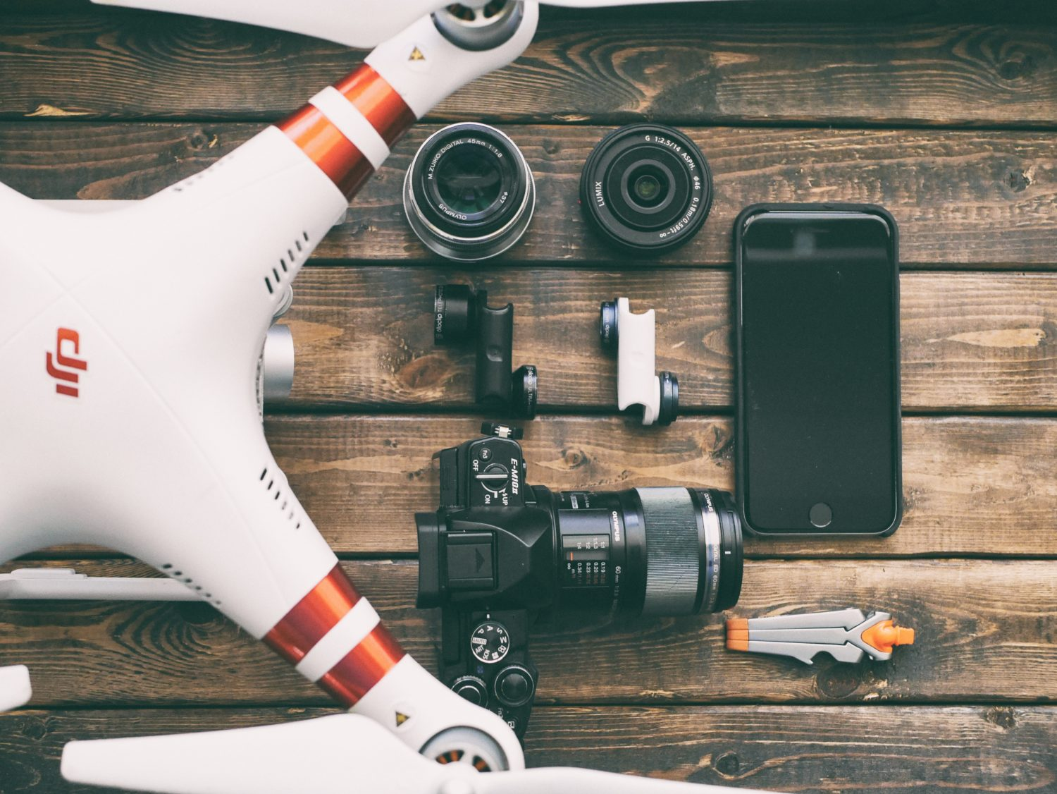 drone photography equipment
