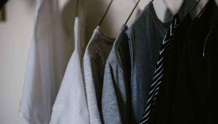staging your home with an organized closet