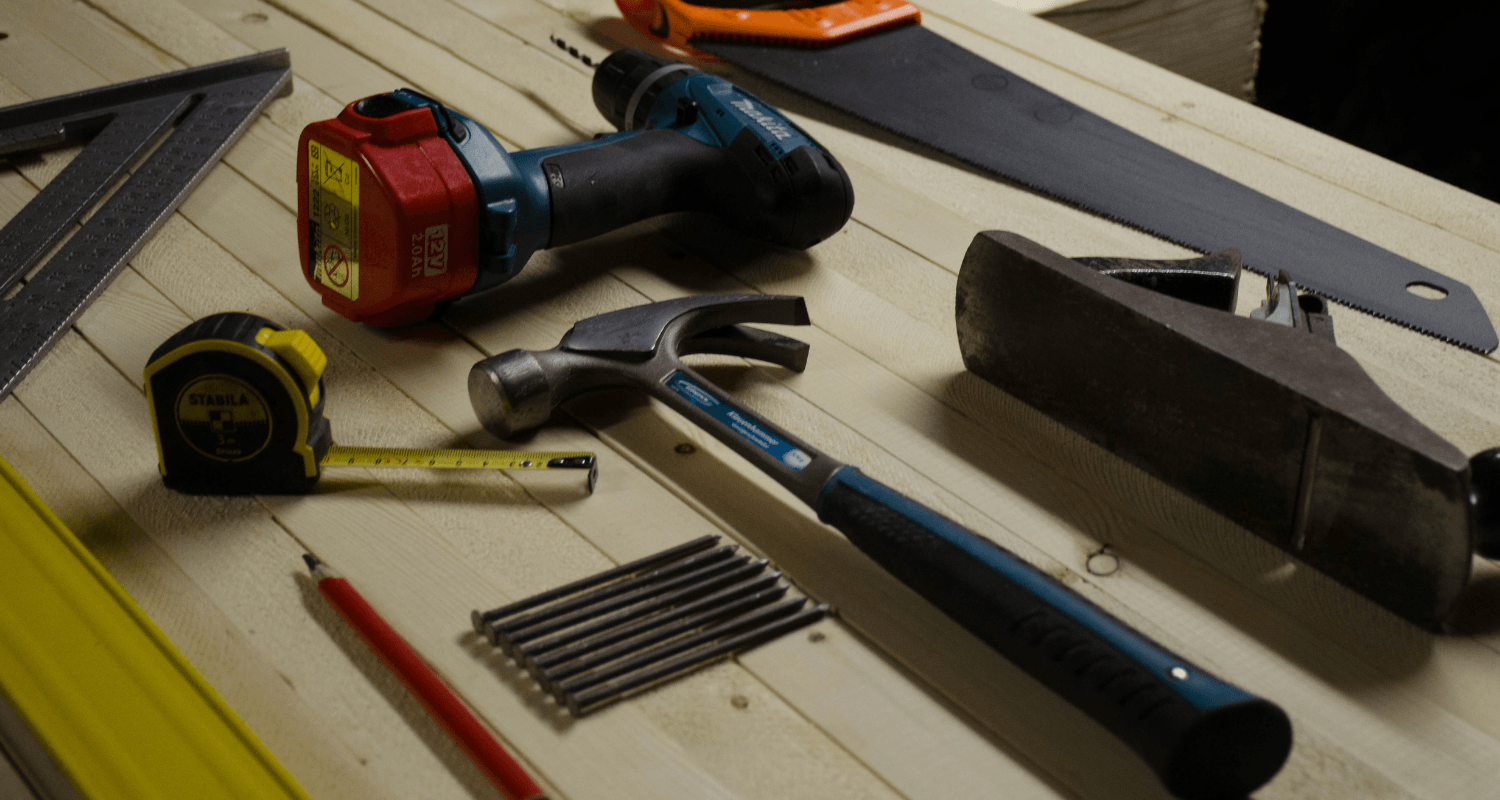 Tools needed to do home maintenance