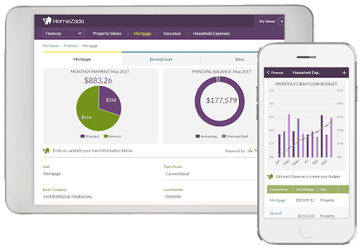 homezada home maintenance app