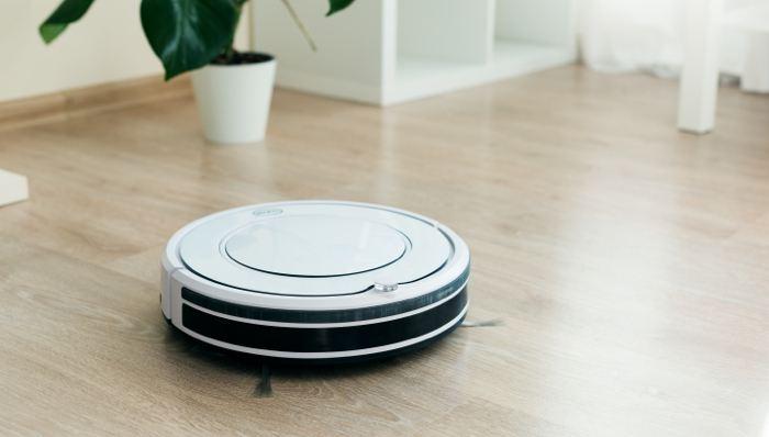 Smart vacuum in need of home repair insurance.