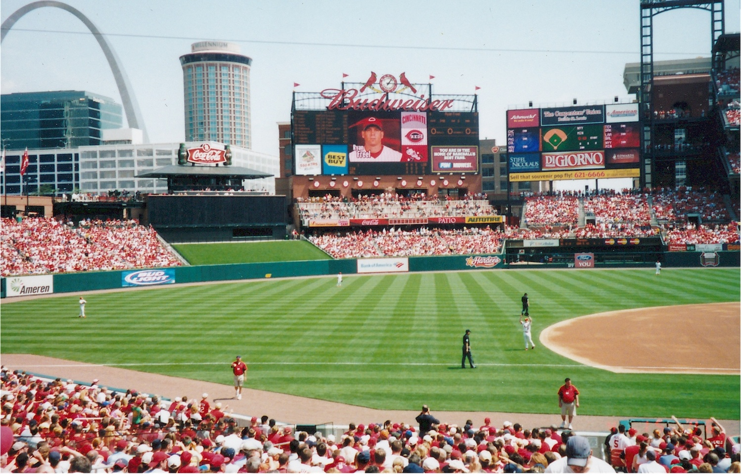 A St. Louis Cardinals game is a great attraction to help sell your house fast.