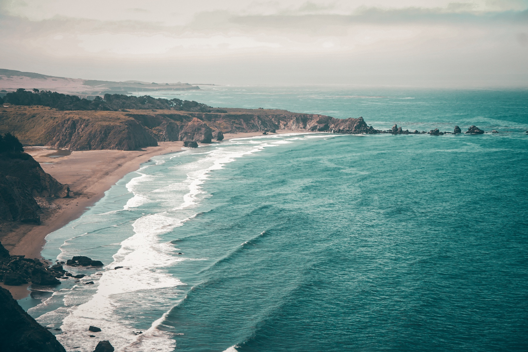 An ocean view in California, where sellers must disclose items in a statement when they transfer the house to a buyer.