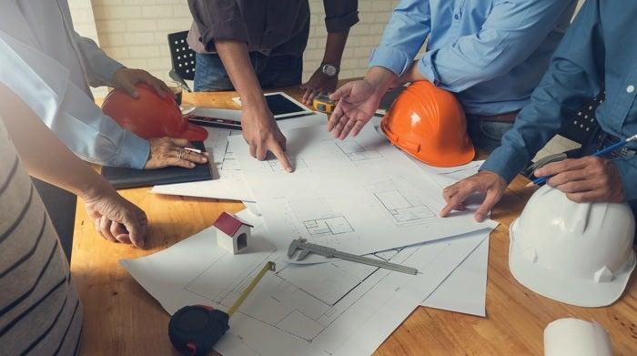 A team of home renovators.