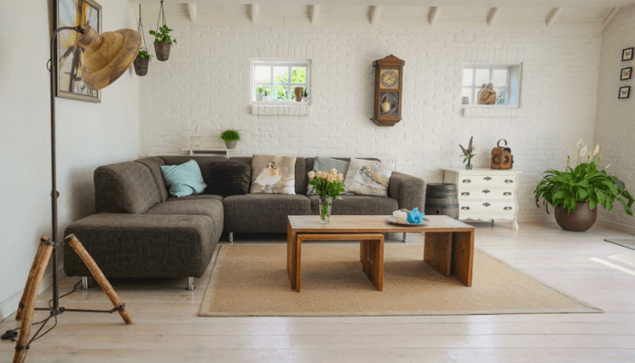 A room in tip-top shape during a slow real estate market.