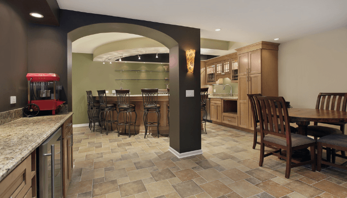A bar that increases home value.