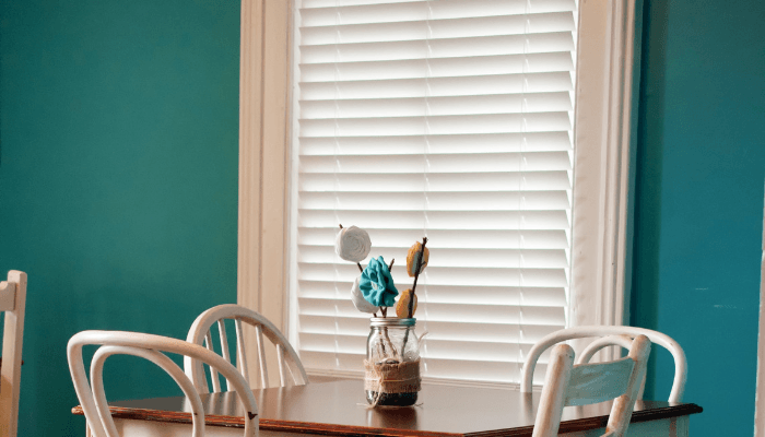Window treatments that will be negotiated on when selling a house.