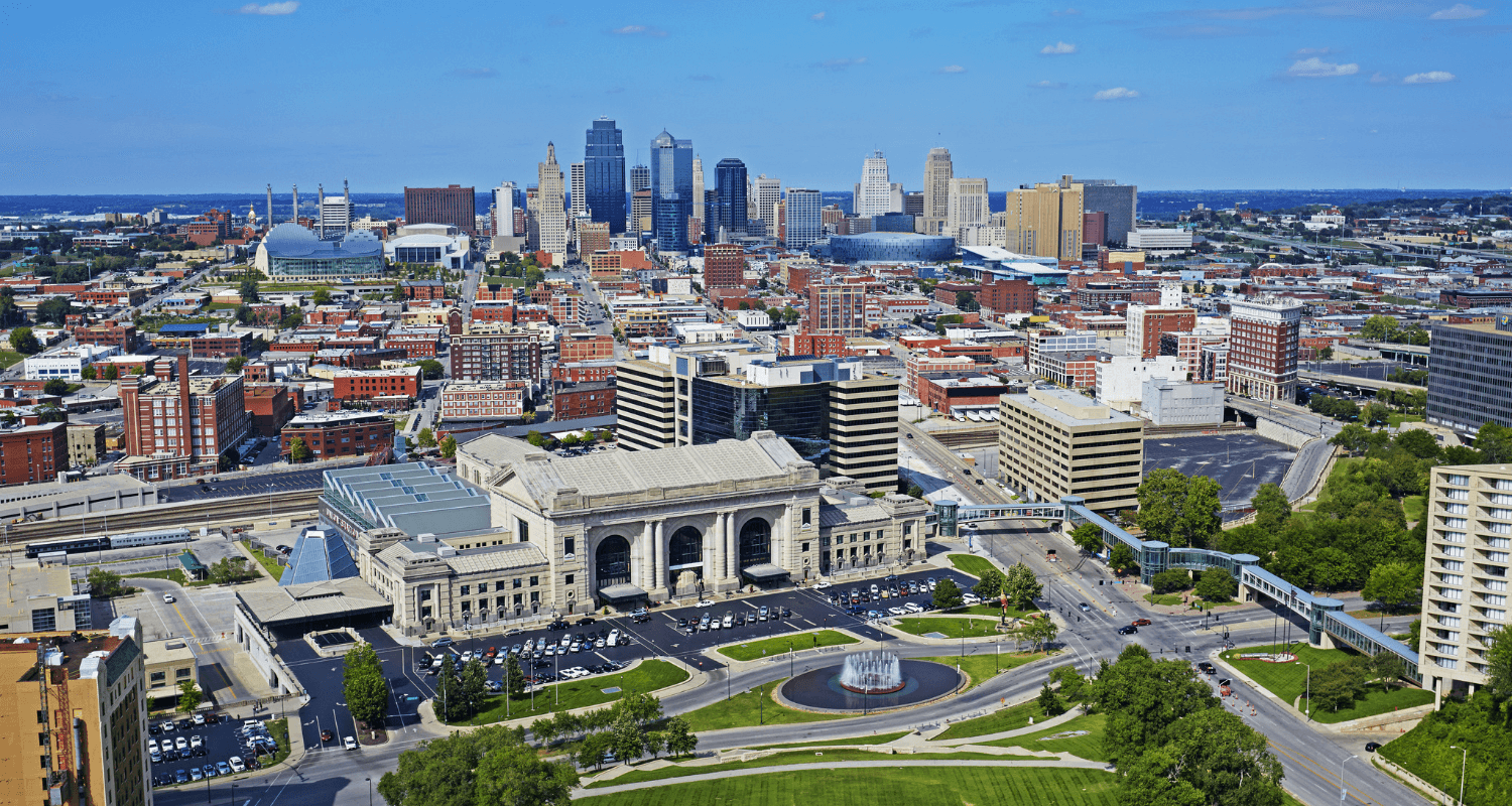 The city of Kansas City, where there are top real estate agents.
