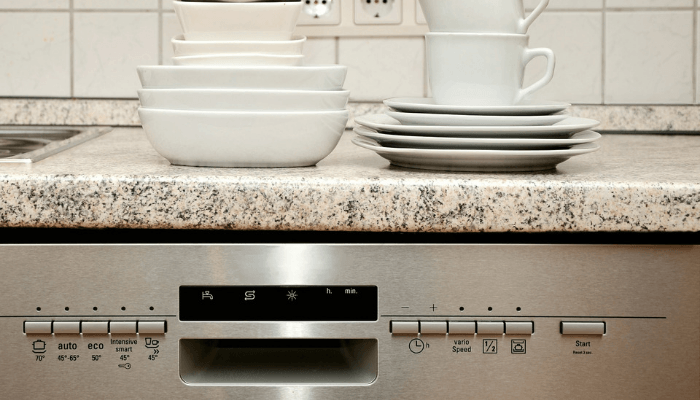 A dishwasher explained in a letter to a new home buyer from a seller.