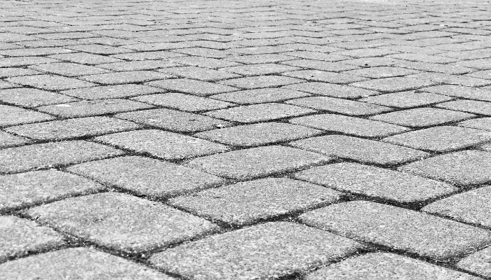 A paver that increased home value.