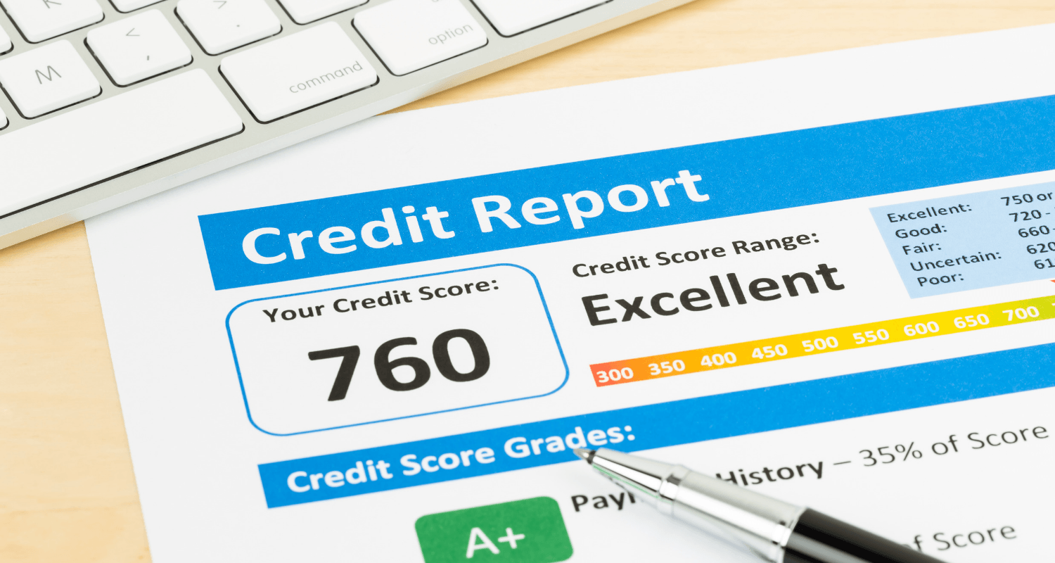 A credit score that was improved before buying a home.