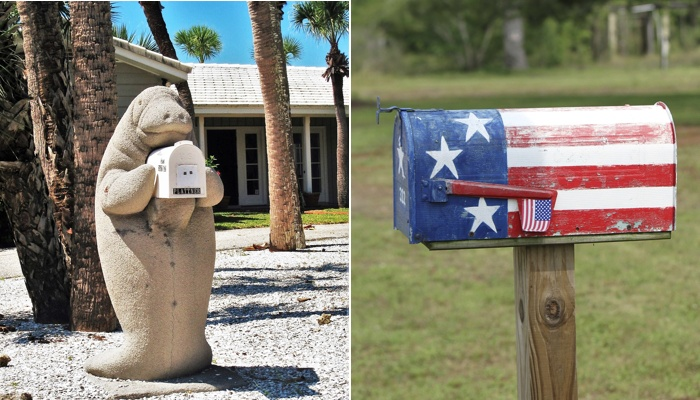 Mailboxes with curb appeal.