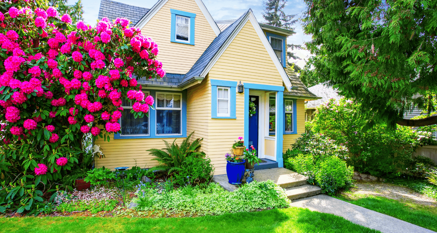 A small home with curb appeal.