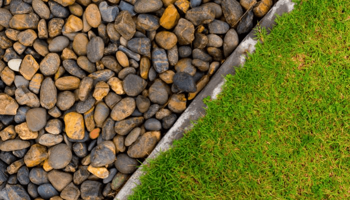 Rocks that create desert curb appeal.
