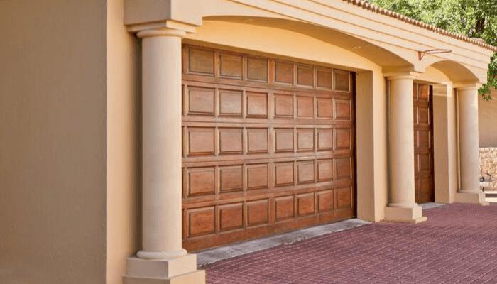 A garage door that adds value.