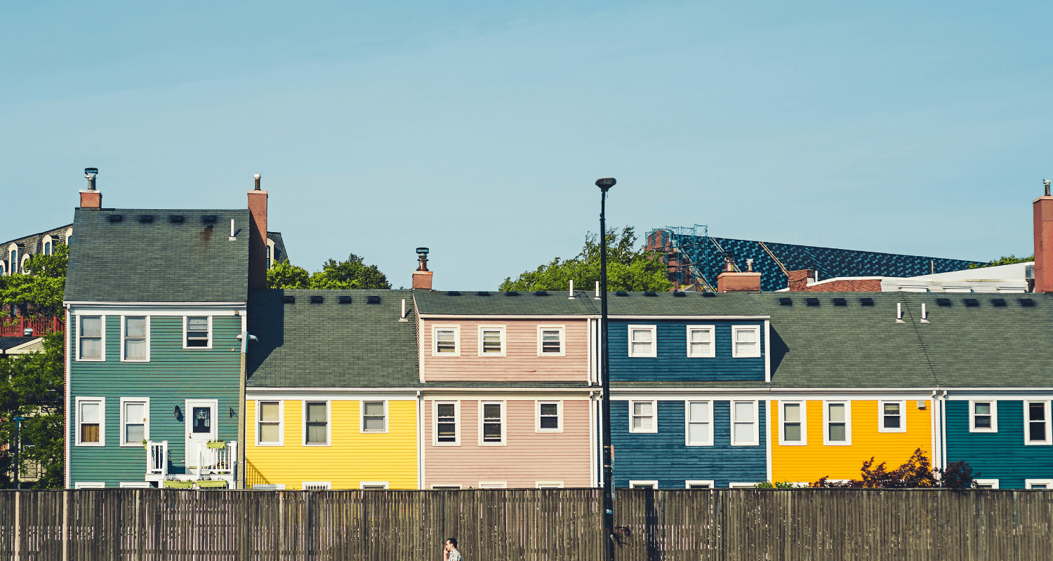A hot market where homebuyers are competing.