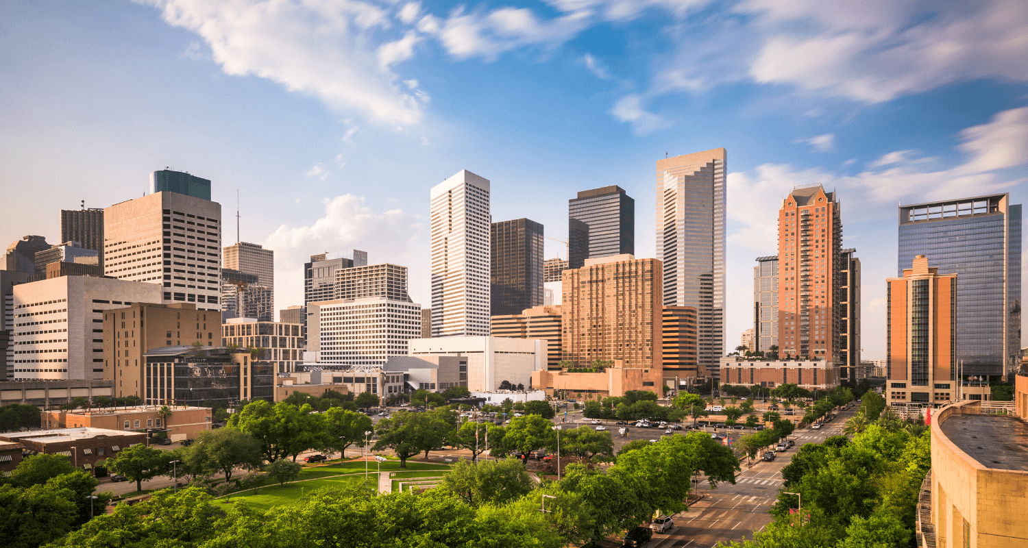 Houston, where there are top real estate agents.