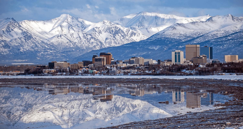 Anchorage, Alaska, where you can buy a house.