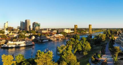 Sacramento, where you can buy a house.
