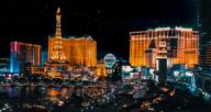 Las Vegas, where you can buy a house.