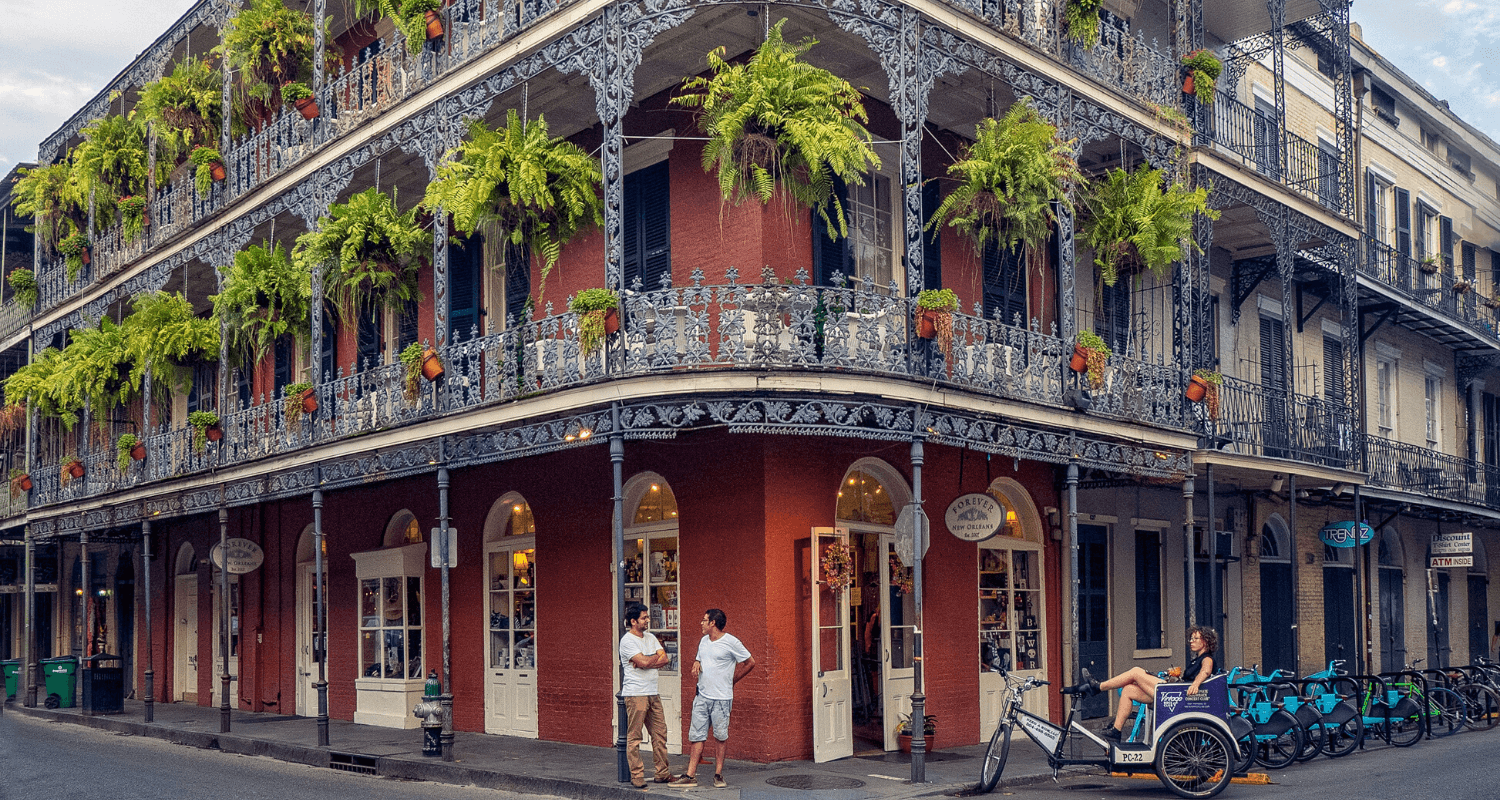 A house in New Orleans you can buy.