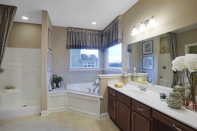 A dual master suite.