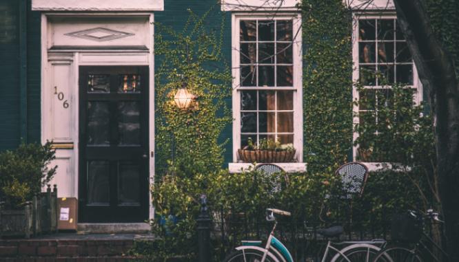 Paint your door, a DIY home improvement idea.