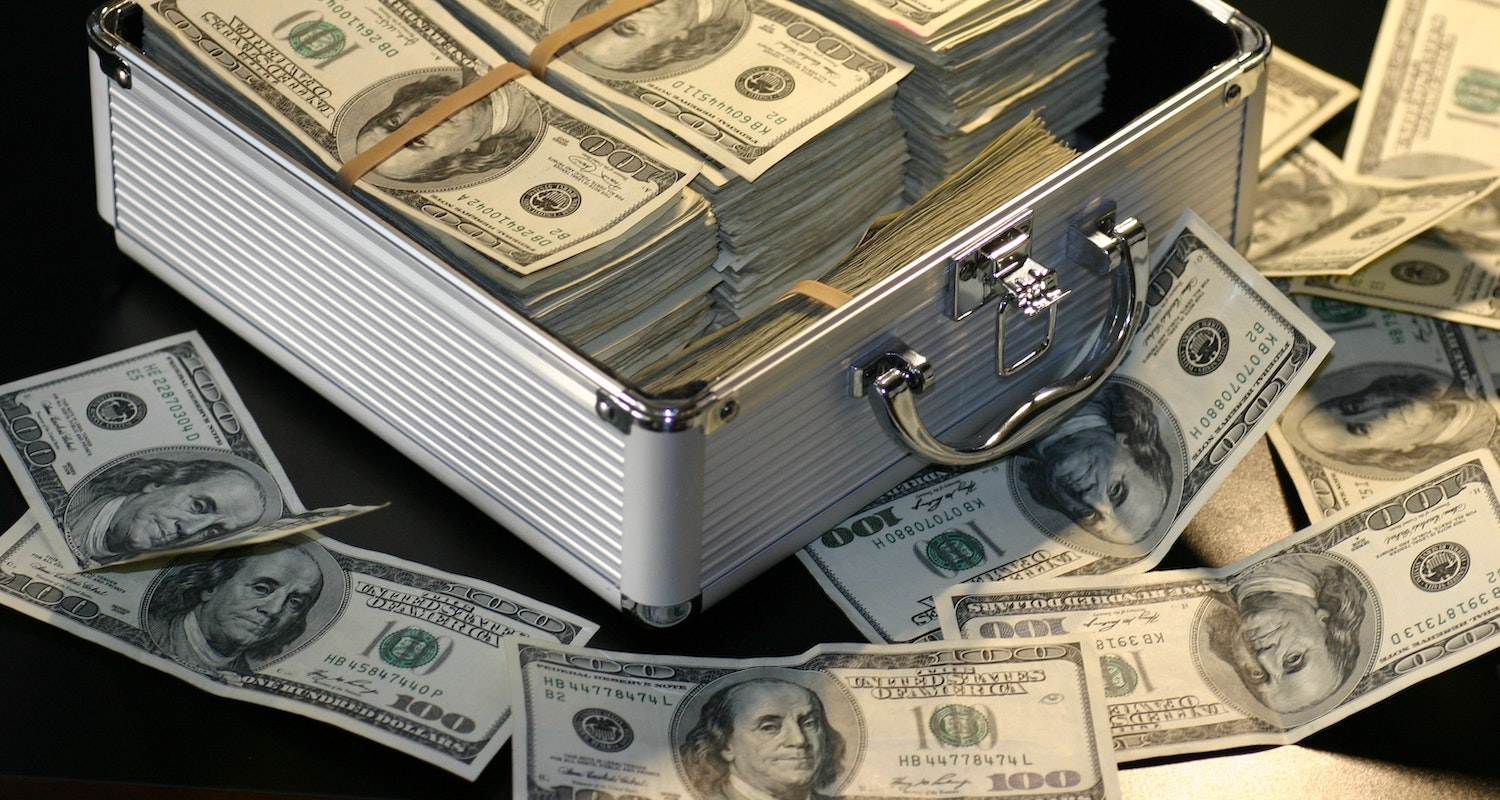 A briefcase full of cash, which is not how you make a cash offer on a house