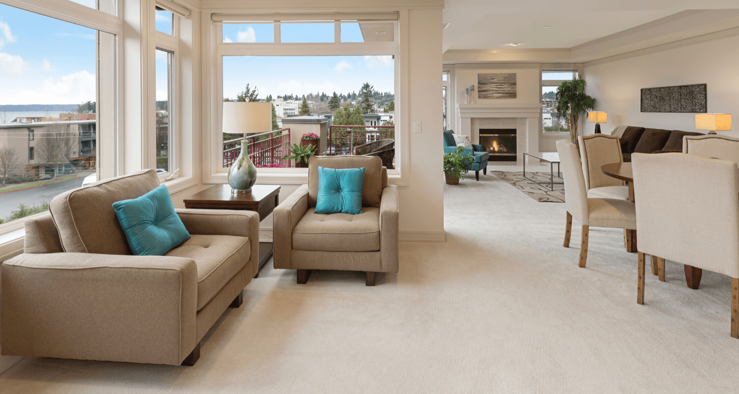 A home with staging mistakes.