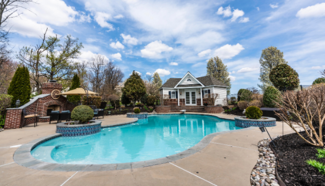 A pool that is a pro for your rent to own homes.