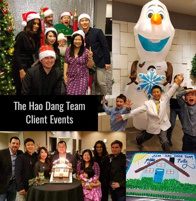 A real estate client appreciation event.