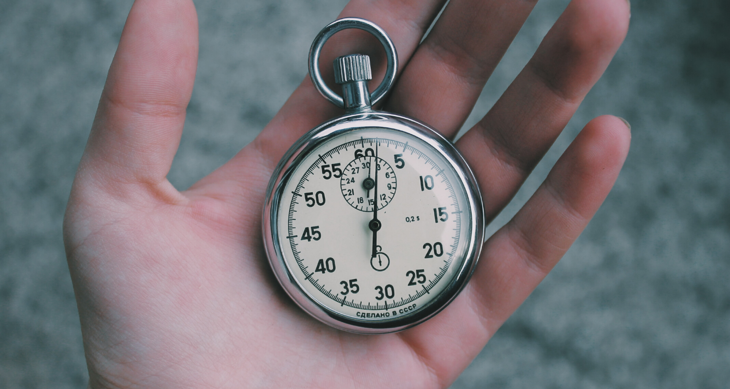 A stop watch so you can tell how long an appraisal takes.