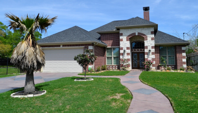 A ranch house with curb appeal.
