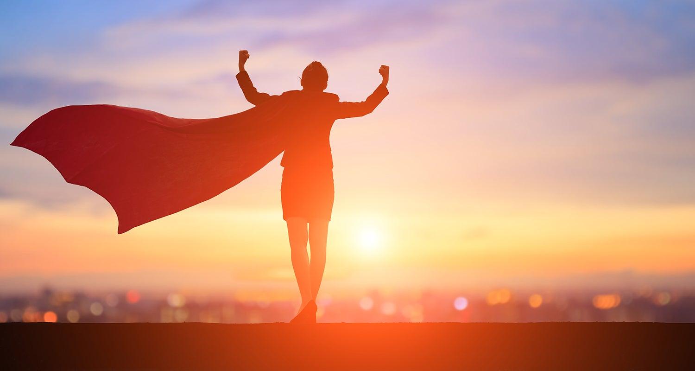 real estate agent as superhero