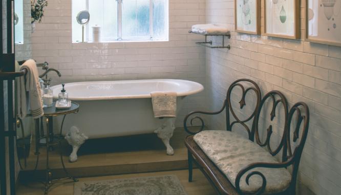 A quarter bath.