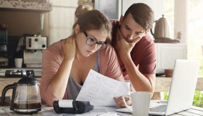 Debt plays a big part in the housing market crashing