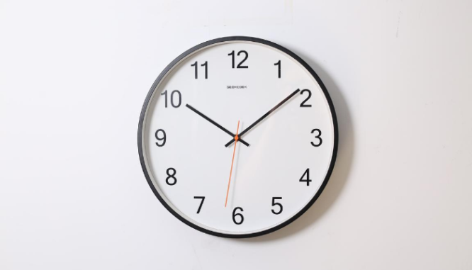 A clock represents a Time Is Of The Essence clause.