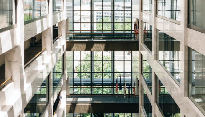A building where you can get an FHA loan.
