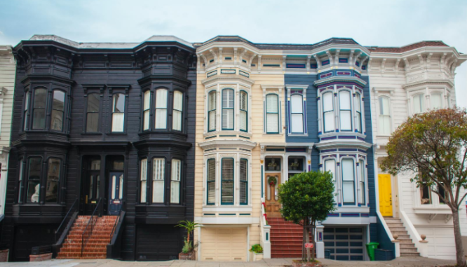Houses that qualify for conventional loans.